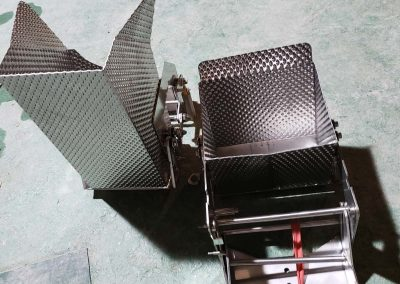 multihead weigher hoppers