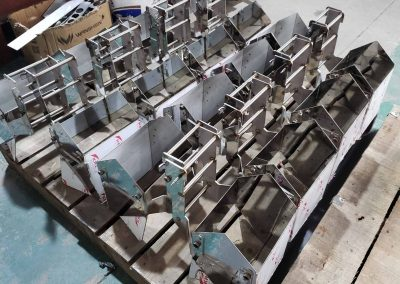 stainless steel weigher hopper