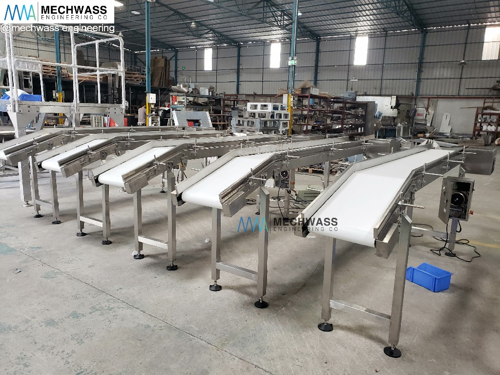 Horizontal Belt Conveyors