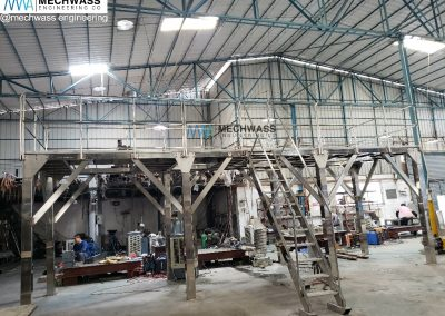 Stainless Steel Weigher Support Platform