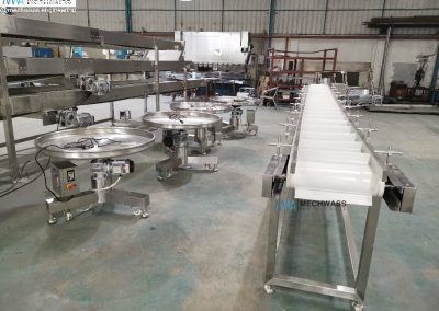 belt conveyors and turntables